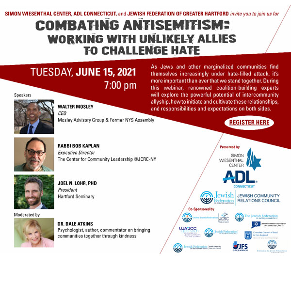 Combating Antisemitism: - Working with Unlikely Allies to Challenge Hate